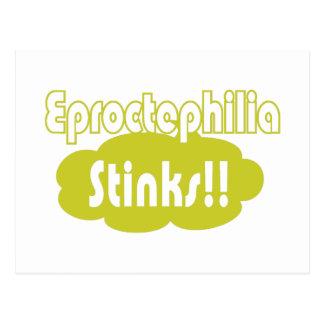 Eproctophilia Stinks!! Postcard