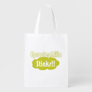 Eproctophilia Stinks!! Reusable Grocery Bag