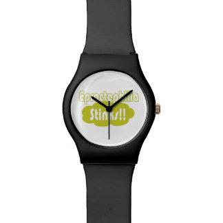 Eproctophilia Stinks!! Wristwatch