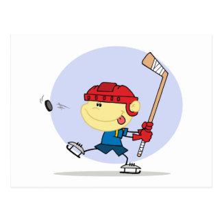 eps_Hockey-kid-6 Postcard
