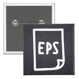 Eps Papers Sign 2 Inch Square Button