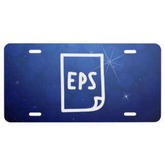 Eps Papers Sign License Plate