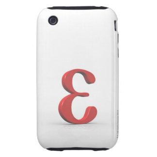 Épsilon 2 tough iPhone 3 cárcasa