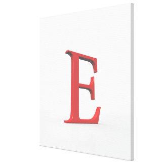 Epsilon Stretched Canvas Prints