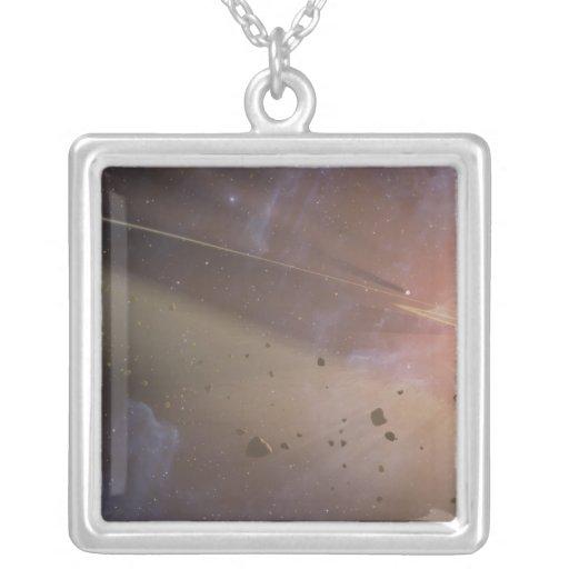 Épsilon Eridani del sistema planetario Colgante Cuadrado