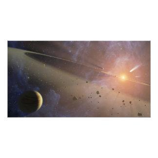 Épsilon Eridani del sistema planetario Fotografía