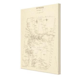 Epsom, Merrimack Co Impresión En Lienzo