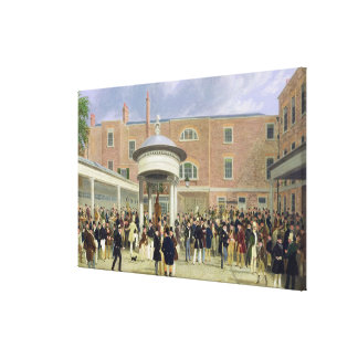Epsom Races: Settling Day at Tattersall's (oil on Canvas Print