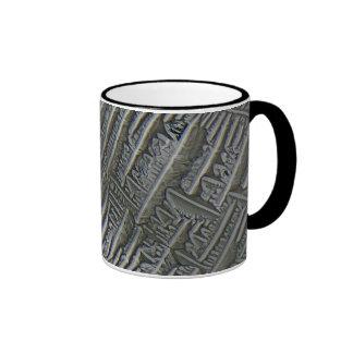 Epsomite under the microscope ringer coffee mug
