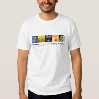 EPW - Extreme Weather Watcher (white apparel) Tee Shirt