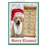 """EPW """"Kissmus"""" Card 3"""
