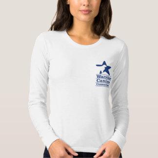 EPW pawprints ladies long sleeve T Shirt