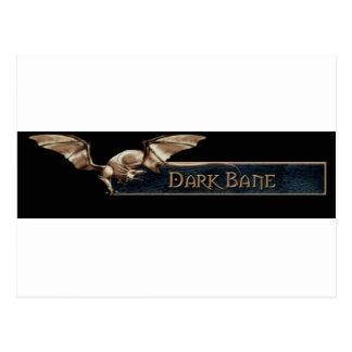 EQ Bertox Dark Bane Guild Postcard