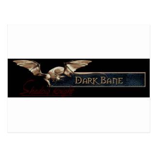 EQ Dark Bane Guild Shadow Knight Postcard