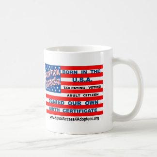 equal access flag tee2 classic white coffee mug