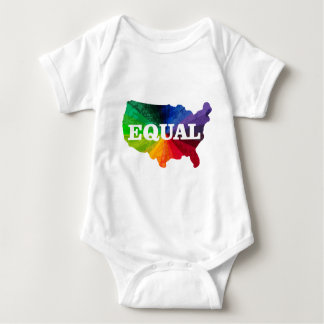 Equal America.png Baby Bodysuit