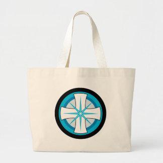 Equal Armed Blue Cross Bags
