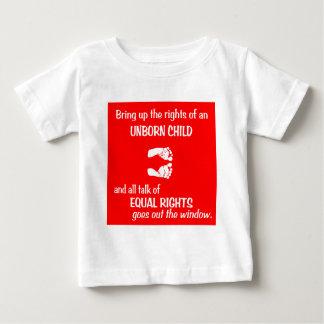 Equal Baby Feet Baby T-Shirt