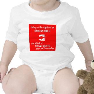 Equal Baby Feet Tshirts