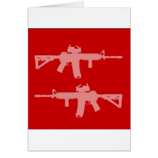Equal gun rights ar15 card
