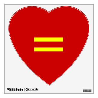 Equal Love Decal Wall Decor