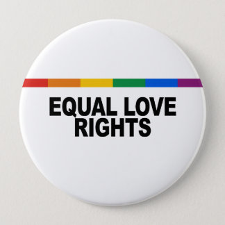 Equal Love Rights Pinback Button