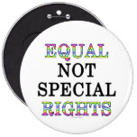 Equal, not special, rights pins