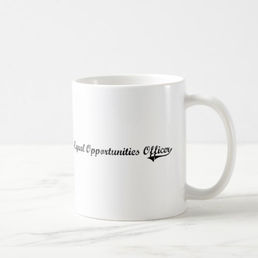 Equal Opportunities Officer Professional Job Mugs