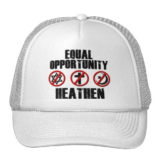 Equal Opportunity Heathen Trucker Hat