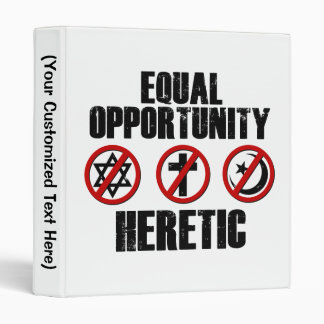 Equal Opportunity Heretic Binder