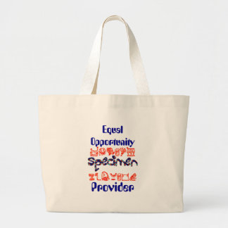 Equal Opportunity Specimen Provider Tote Bags