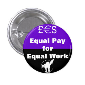 equal pay for equal work button