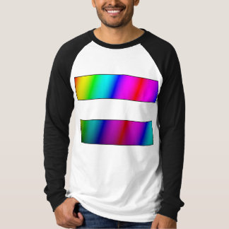 Equal. Period. w/TLC Rainbow front/back T-Shirt