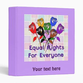 Equal Rights 3 Ring Binder
