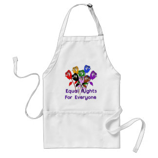 Equal Rights Adult Apron