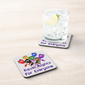 Equal Rights Beverage Coaster