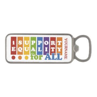 Equal Rights custom bottle opener