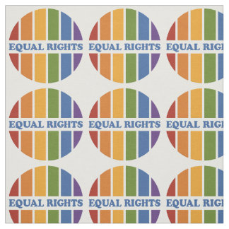 Equal Rights custom fabric