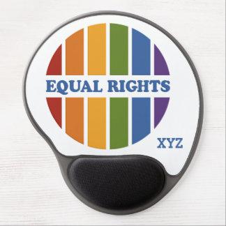 Equal Rights custom monogram mousepad