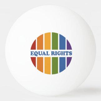 Equal Rights custom monogram ping pong balls Ping-Pong Ball