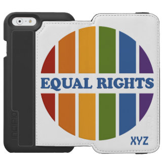 Equal Rights custom monogram wallet cases