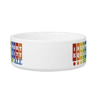 Equal Rights custom pet bowls