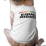 Equal Rights Dog T Shirt