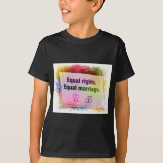 Equal Rights Equal Marriage T-Shirt