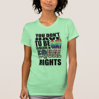 Equal rights for all tee shirts