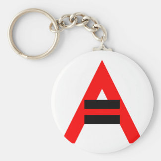 Equal Rights for Atheists (Black) Keychain