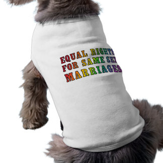 Equal Rights for Same Sex Marriages Shirt