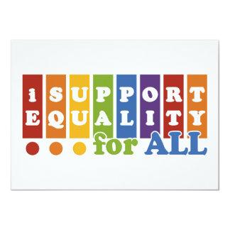 Equal Rights invitation 11 Cm X 16 Cm Invitation Card