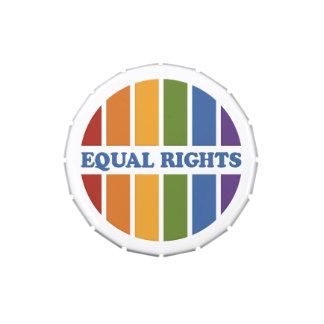 Equal Rights jars & tins Candy Tins