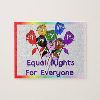 Equal Rights Jigsaw Puzzle